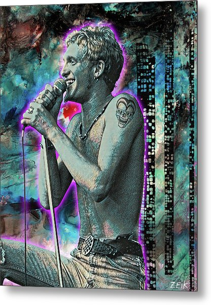 Layne Staley - Heaven Beside You Metal Print
