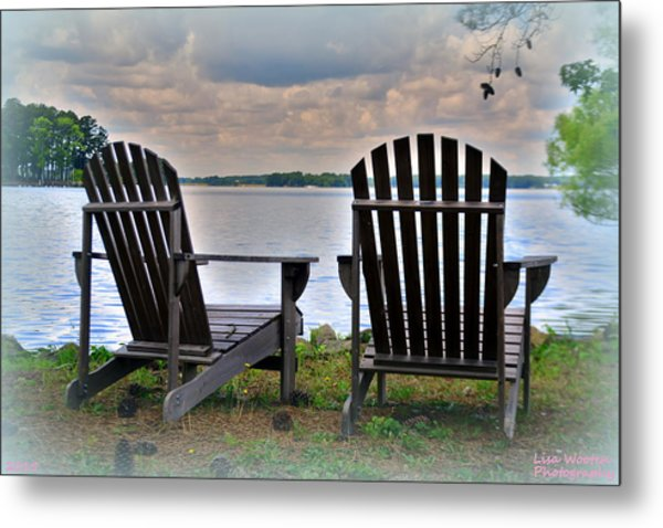 Metal Print featuring the photograph Lazy Afternoon by Lisa Wooten