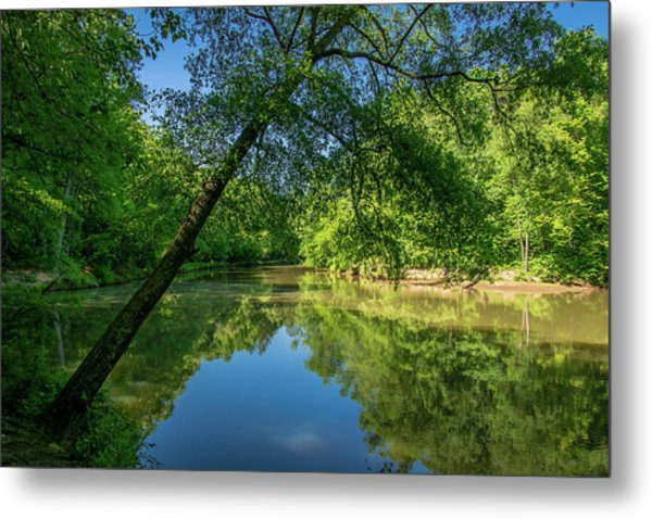 Lazy Summer Day On The River Metal Print