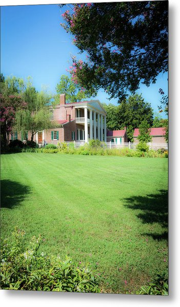Metal Print featuring the photograph Lazy Summer Day - The Hermitage by James L Bartlett