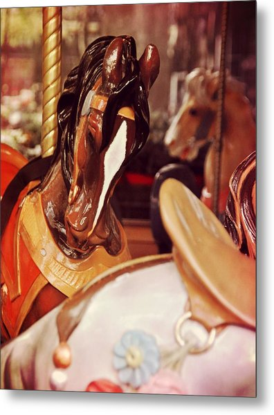 Le Carrousel Metal Print by JAMART Photography