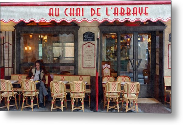 Le Chai Paris  Metal Print