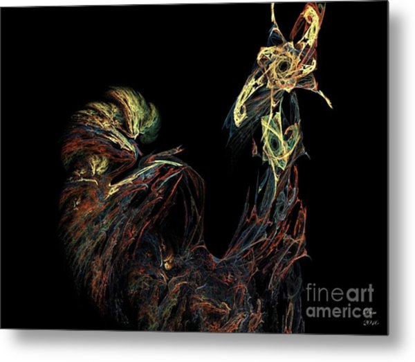 Le Coq Metal Print by Dom Creations