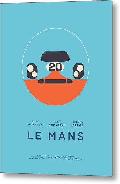 Le Mans Movie - A Metal Print
