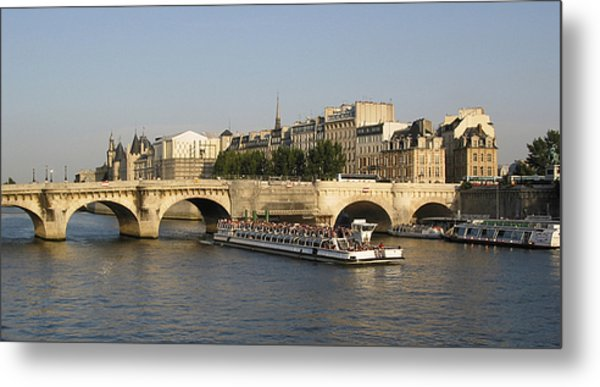 Le Pont Neuf. Paris. Metal Print