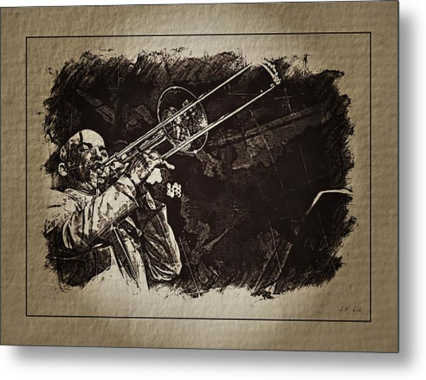 Le Roi Du Trombone  Metal Print
