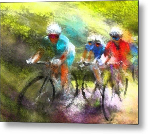 Le Tour De France 11 Metal Print