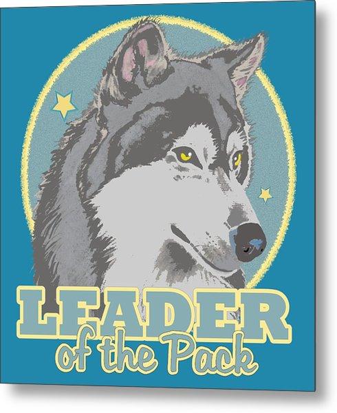 Leader Of The Pack Metal Print