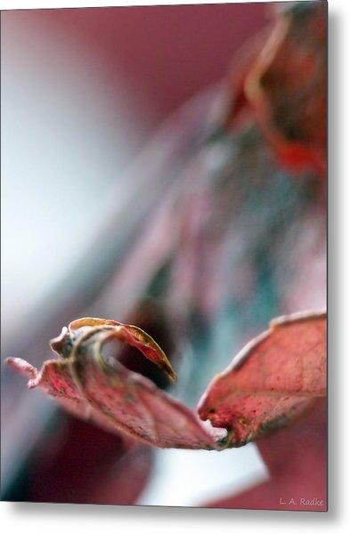 Leaf Abstract I Metal Print