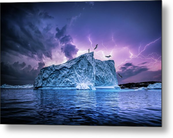 Leap Of Faith Metal Print by Brent Shavnore