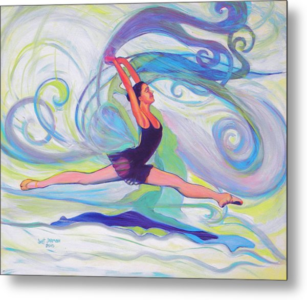 Leap Of Joy Metal Print