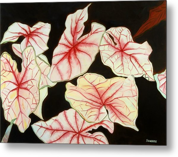 Leaves Metal Print by Sunhee Kim Jung