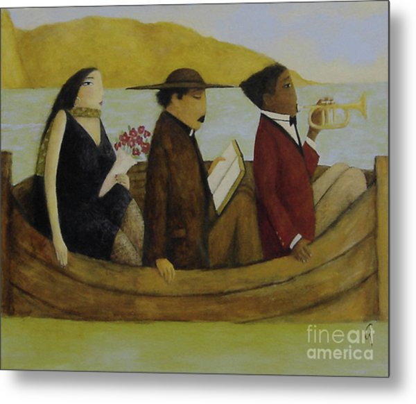 Leaving America Metal Print