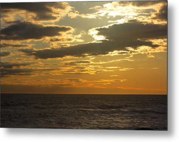 Leaving New Jersey Metal Print by Kevin  Sherf