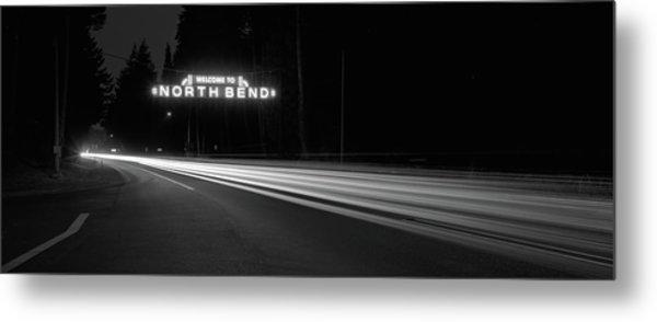 Leaving North Bend Metal Print by HW Kateley