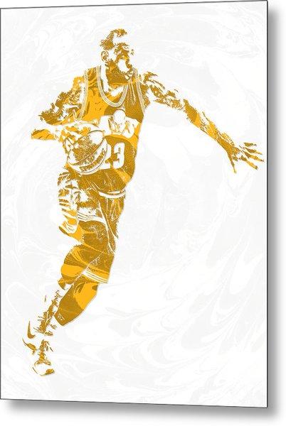 Lebron James Cleveland Cavaliers Pixel Art 14 Metal Print