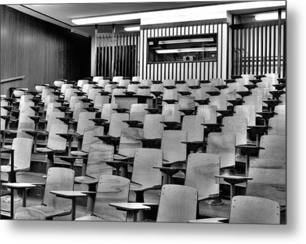 Lecture Hall At Ubc Metal Print