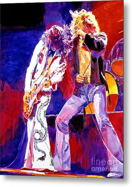 Led Zeppelin - Page And  Plant Metal Print