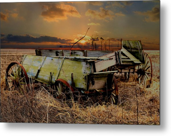 Leftovers Metal Print