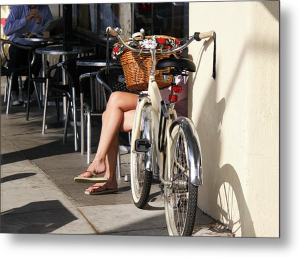 Leg Power - On Montana Avenue Metal Print