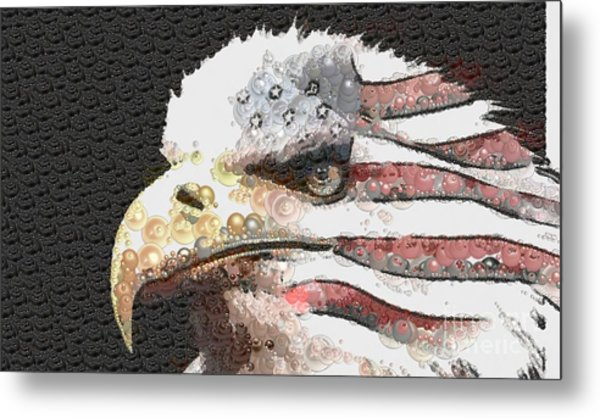 Legally Unlimited Eagle Metal Print