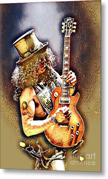 Legends Of Rock - Slash - Sweet Child Metal Print