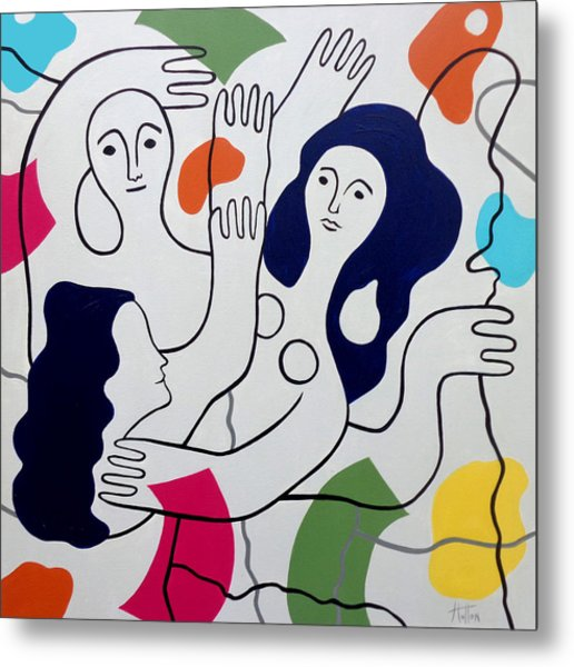 Leger Light And Loose Metal Print