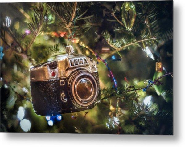 Leica Christmas Metal Print
