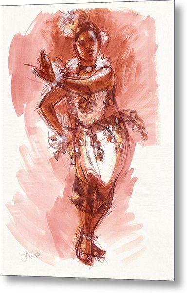 Lelei, Dancer Of Tonga Metal Print