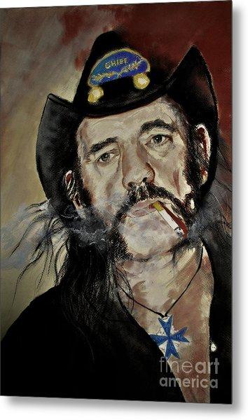 Lemmy Kilmister Motorhead Metal Print