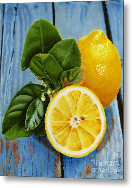 Lemon Fresh Metal Print