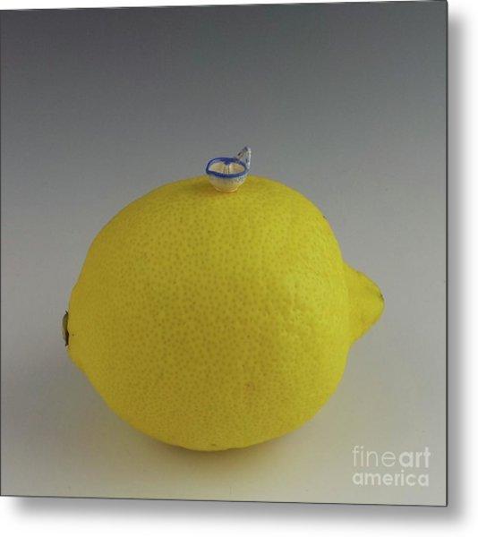 Lemon Juicer Metal Print