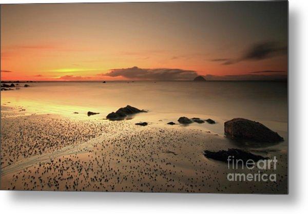 Lendalfoot Sunset Ref8962 Metal Print