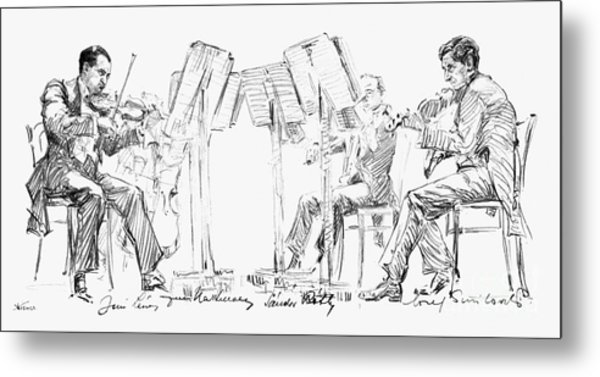 Lener String Quartet Metal Print
