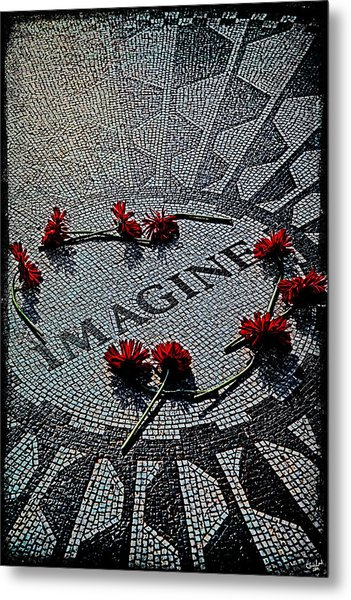 Imagine If Metal Print