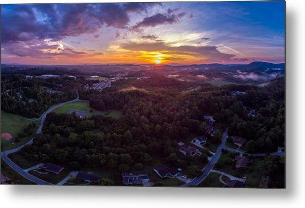 Lenoir North Carolina  Sunset Metal Print