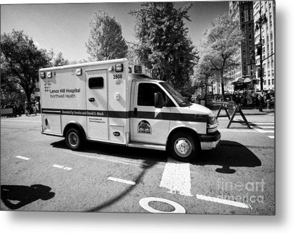 lenox hill hospital ambulance on call New York City USA