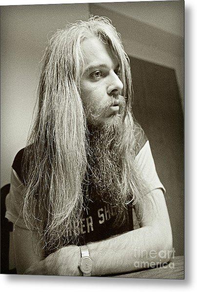 Leon Russell 1970 Metal Print
