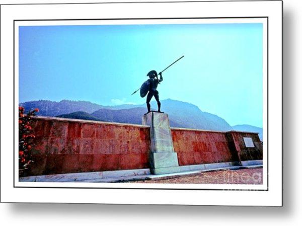 Leonidas At Thermopylae Ver 7 Metal Print