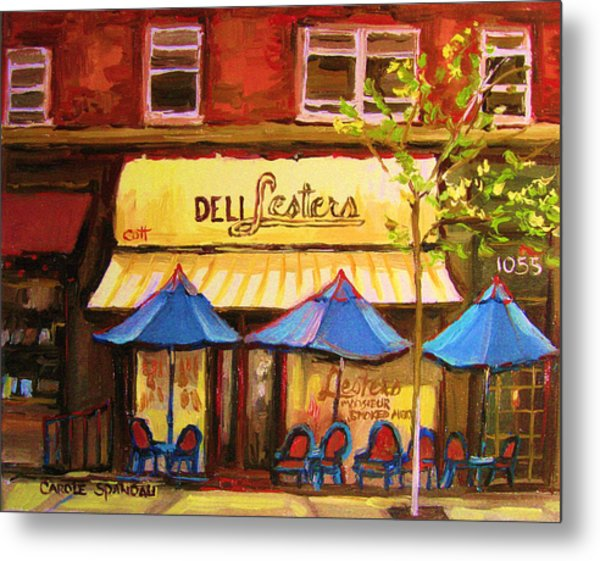 Lesters Cafe Metal Print