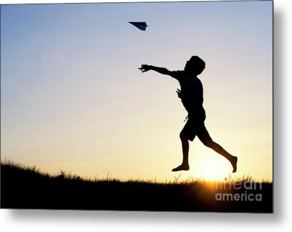 Let It Fly Metal Print by Tim Gainey