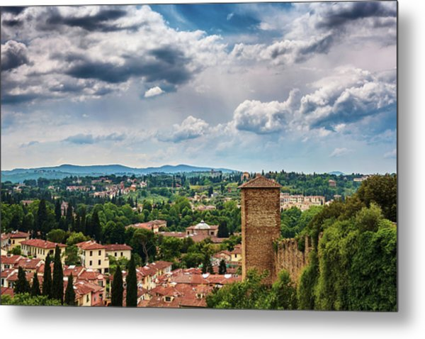 Let Me Travel To Another Era Metal Print