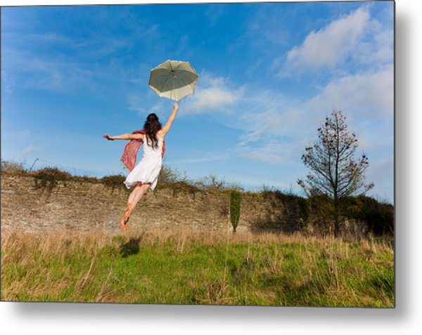 Let The Breeze Guide You Metal Print