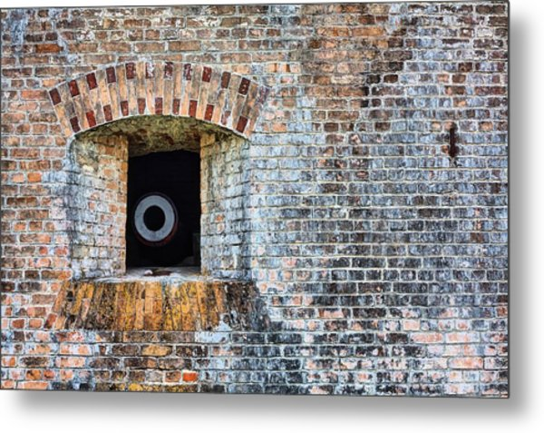 Let The Cannons Thunder Metal Print by JC Findley
