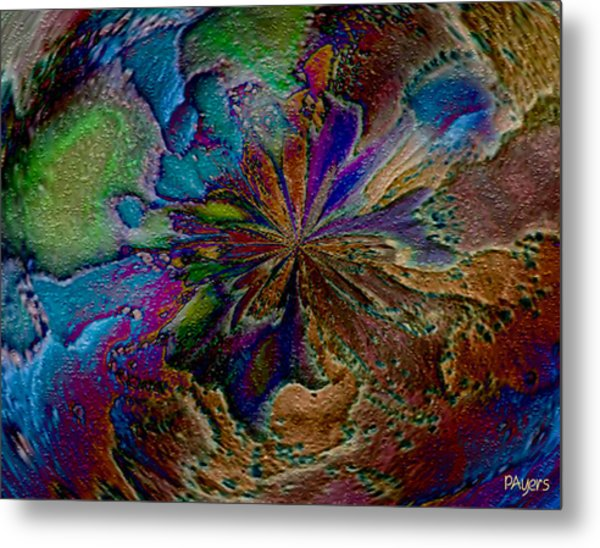 Let The Earth Bring Forth Metal Print
