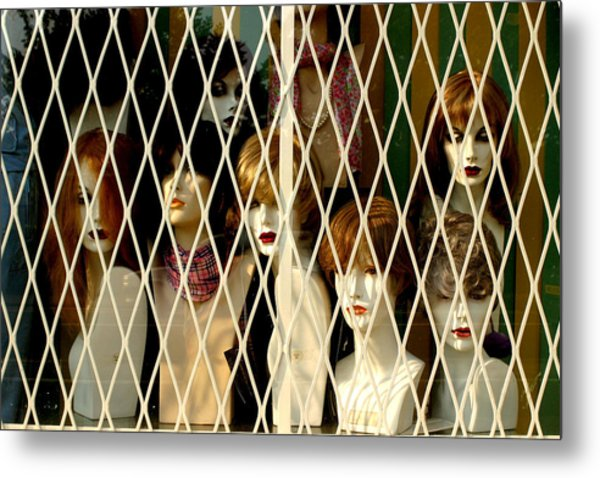 Let Us Out We Are Ok Metal Print by Jez C Self