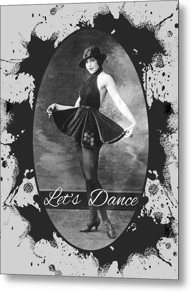 Lets Dance Metal Print