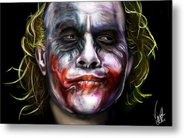 Let's Put A Smile On That Face Metal Print