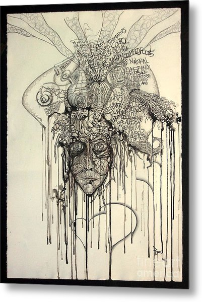 Letting Go Metal Print by Rory Canfield