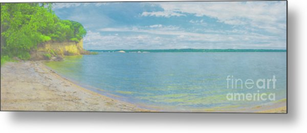 Lewis And Clark Lake Metal Print